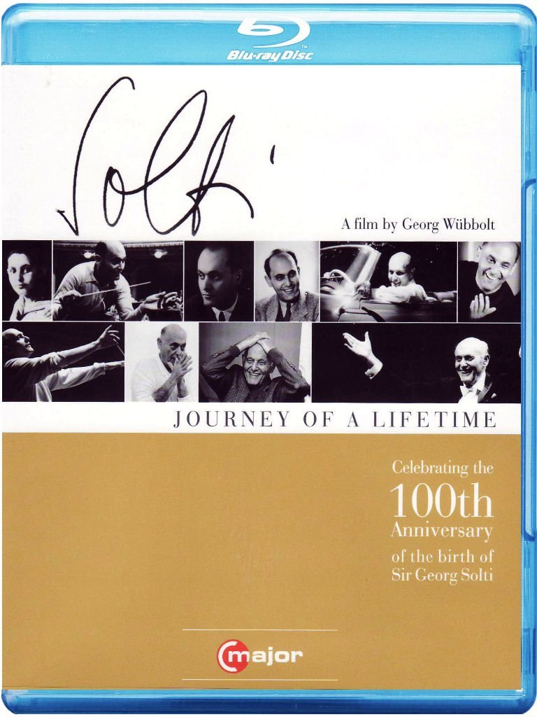 Georg Solti - Sir George Solti: Journey of a Lifetime (Blu-ray)