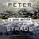 A Dark Matter  Hörbuch von Peter Straub Gesprochen von: Robertson Dean