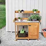 YAHEETECH Outdoor Garden Potting Bench Table Work
