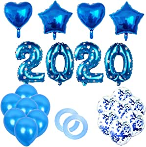 Amazon.com: Amosfun New Years Eve Party Supplies 2020 ...