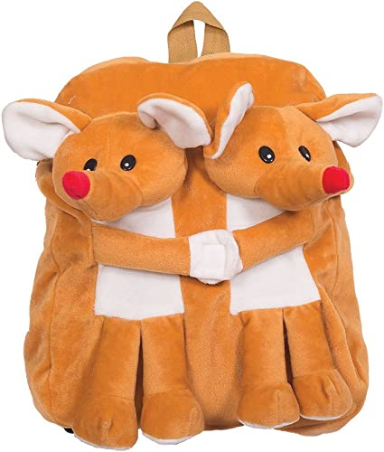 Masoom - Plush backpack Mouse pair