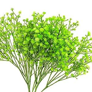 Yunuo 12PCS Artificial Baby Breath/Gypsophila Silk Flower Wedding Home Party Decor Gift 6