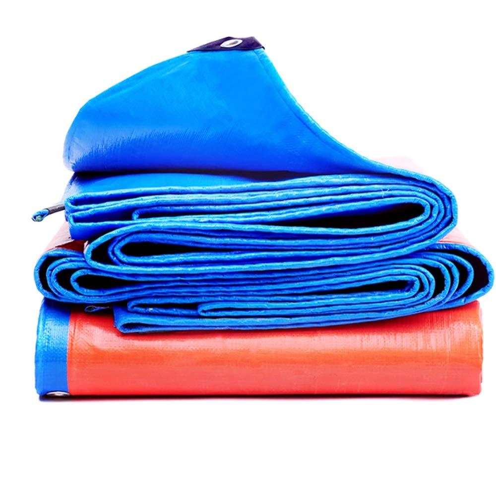 WCS WCS WCS Telo Impermeabile Telo di plastica Telo Impermeabile Parasole Impermeabile Telone per Camion Tela Cerata all'aperto Tela Spessa per Esterni (155 g Metro Quadro, Spessore  0,3 mm) B07GTNZKKM 6x8m rosso And blu | nuovo venuto  | Forte valore  | Di Alt 962657