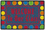 Flagship Carpets CE324-08W Sitting Spots Primary Welcome Mat, Multi