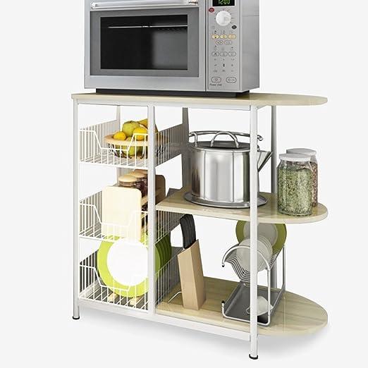Guo Shop- Cocina Multiuso para microondas Estantes para ...
