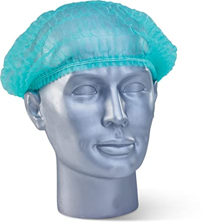 6af6ebf8ade Buy NUVO MEDSURG Disposable Bouffant Surgical Head Cap Pack Of 100 (Green)  Online at Low Prices in India - Amazon.in