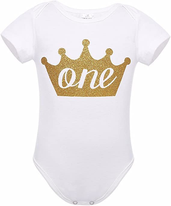 Personalised 1st First Birthday Glitter Baby Girl vest//grow free P/&P