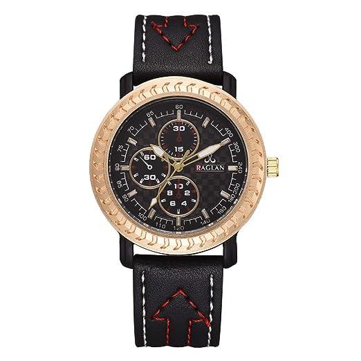 VEHOME Reloj de Cuarzo para Hombres de Moda - Cuero Reloj de Cuarzo para Hombres -Relojes Inteligentes relojero Reloj reloje hombresRelojes de Pulsera ...