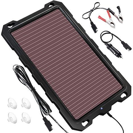 Cargador de batería solar para coche, 3.3 W 12 V cargador ...