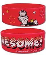 Hetalia Men's I Am Awesome Anime Wristband