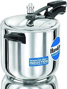 Hawkins Pressure Cooker, 6 L, Silver