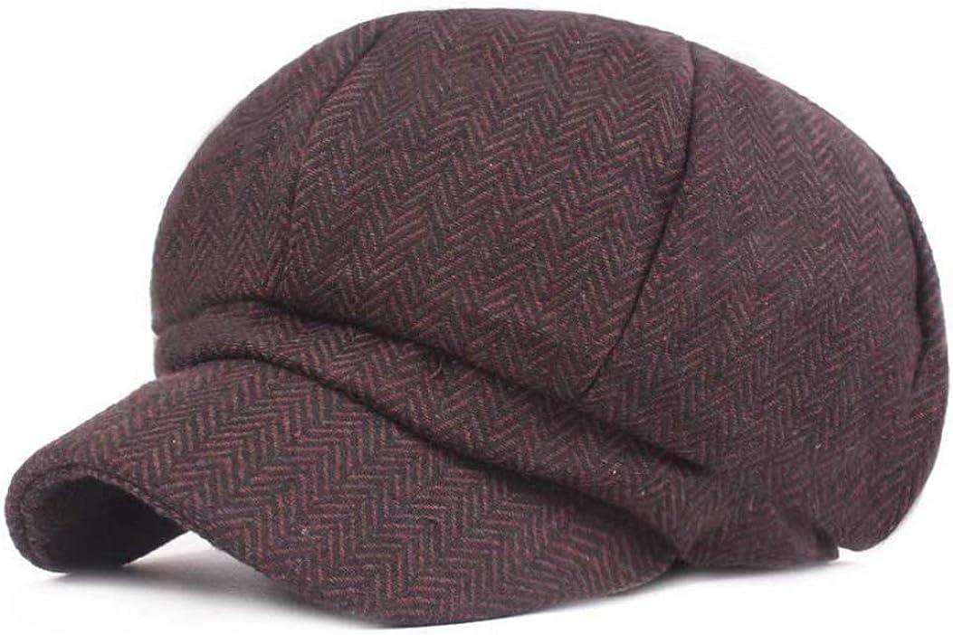 Mens Vintage Newsboy Hat...