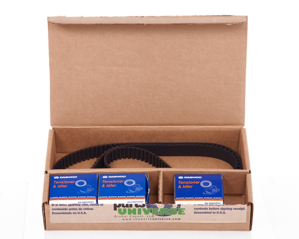 Amazon.com: Timing Belt Kit for Chevy Chevorlet Optra LIMITED SUZUKI FORENZA RENO (Belt By Gates, Tensioner By Daewoo, Pulley By Daewoo)part:95182229: ...