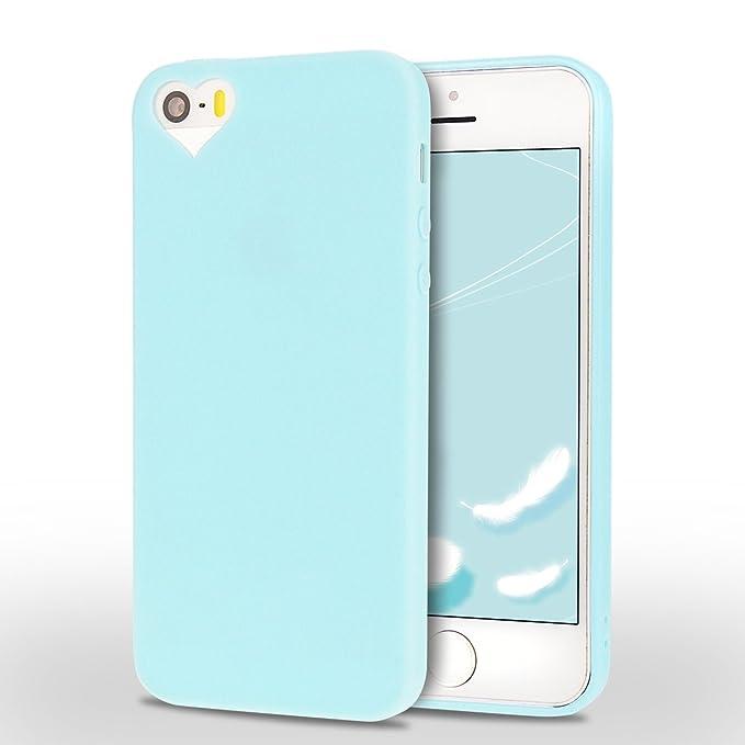 1 opinioni per Cover iPhone 5/5S/SE Spiritsun Moda Ultraslim TPU Case Elegante Carina Souple