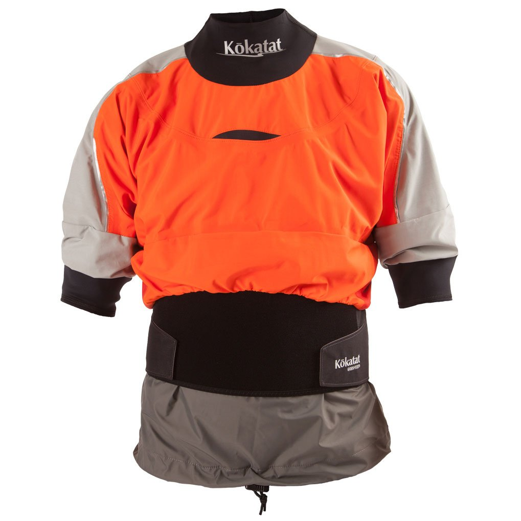Kokatat Gore-Tex Trinity Shorty Drytop - Men's Tangerine, XL by Kokatat