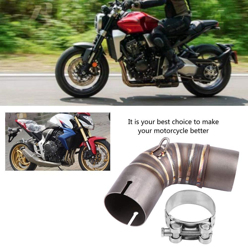 EBTOOLS Tubo di scarico per motocicli Collegamento per tubo centrale Connect for CB1000R 2008-2017