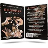 Magic Makers Showoff with Coins Instructional Magic DVD with Magician Ben Salinas by Learn Over 70 Magic Tricks & Moves with Coins - Coin Magic Tricks