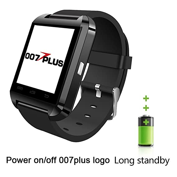 U80 U8 Smart Watch, 007plus Bluetooth 4.0 Smart Wrist Wrap Fitness Watch Phone for Smartphone Android Samsung S2/S3/S4/S5/S6Note 2/Note 3/Note 4/HTC ...