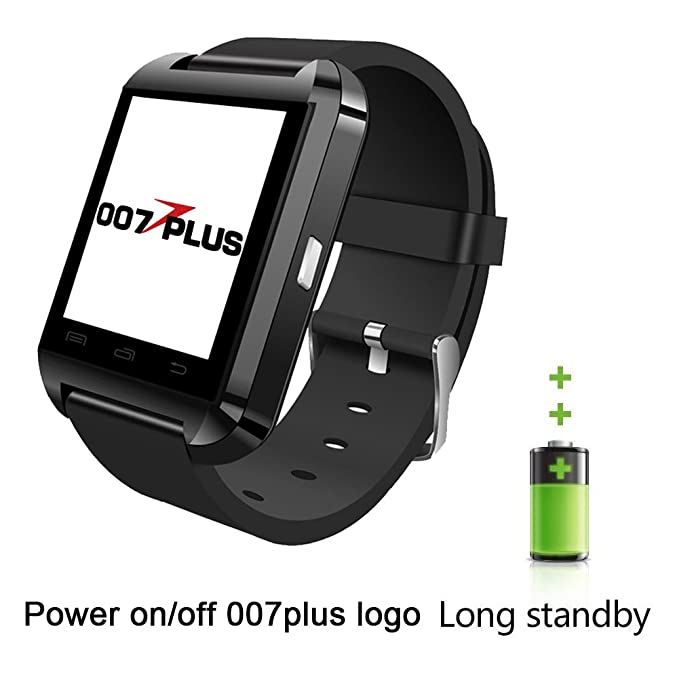 Reloj Inteligente U80 U8 007plus Bluetooth 4.0 Smart Wrist Wrap ...