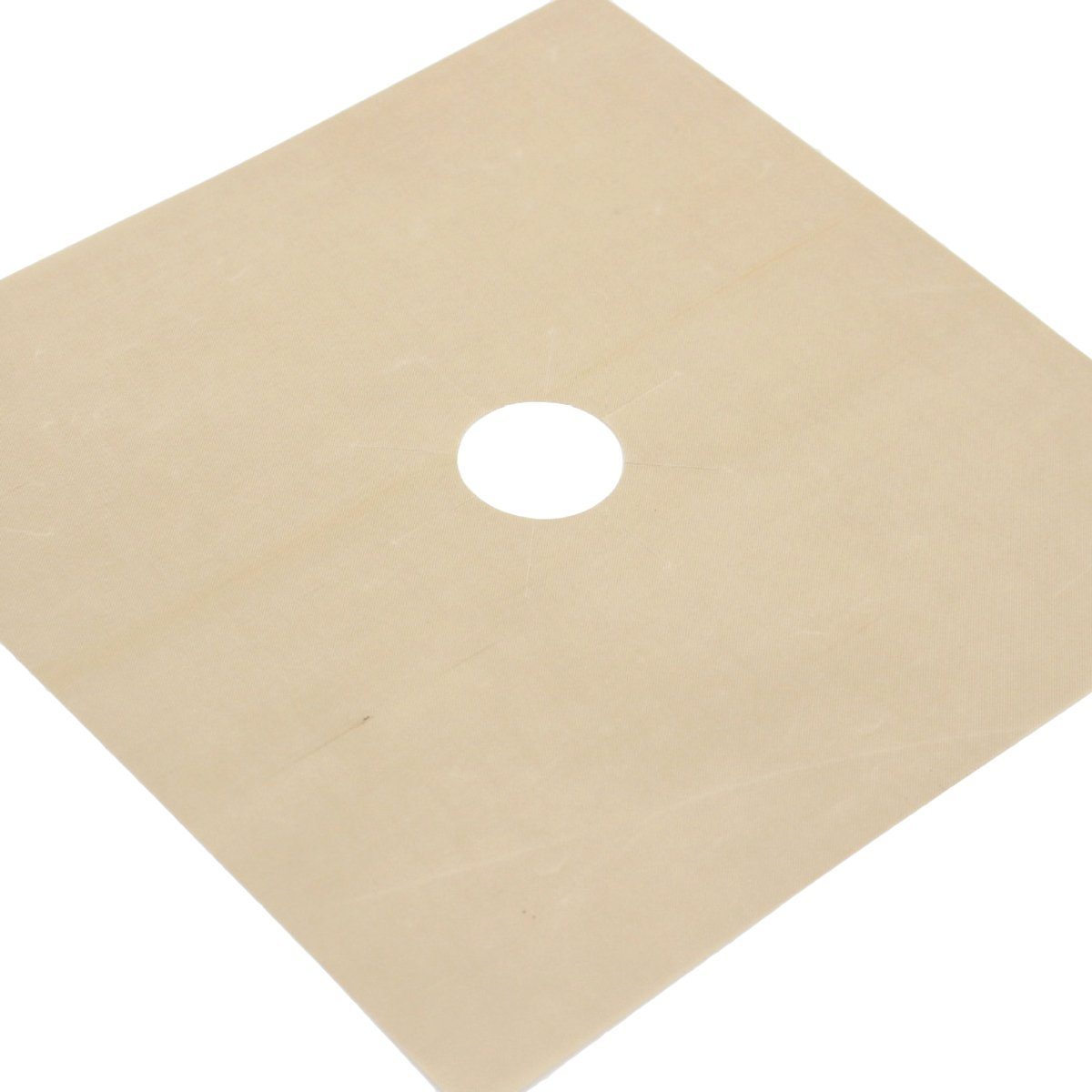 1pcs Universal Heavy Duty Oven Liner Gas Hob Protector Sheets (Beige) by BESTONZON (Image #4)