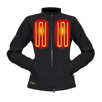 Battery Heated Clothing >> Actionheat 5v Battery Heated Jacket Women S