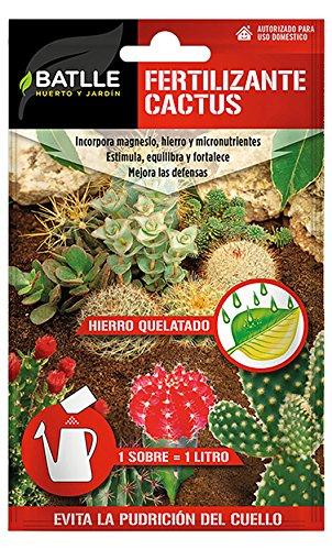 Seeds Batlle 710600BOLS Cactus fertilizer, for 1l. Semillas Batlle