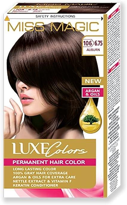 tinta para el cabello Miss Magic Tinte Cobre Hair Colour con ...