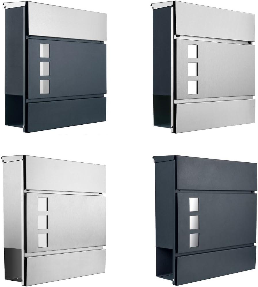 Num/éro de maison en acier inoxydable n /° 6//H18/cm//V2/A//lumineux//LED blanc //sans transformateur//seulement 1/x Frais de Livraison pour toutes les commandes Ensemble. DC12/V