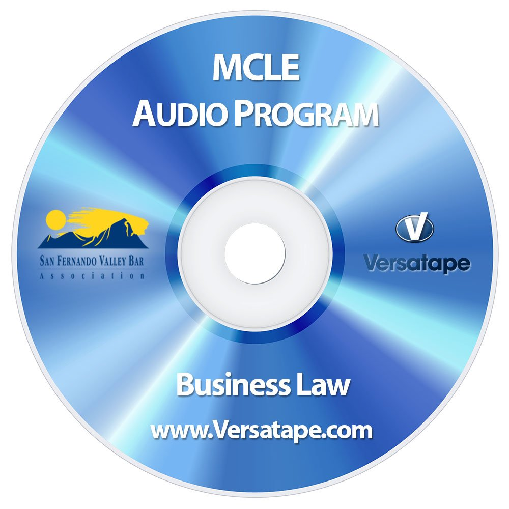 Top 5 Recent Changes In Employment Law, Business Law CLE, MCLE Audio Program (CD) pdf