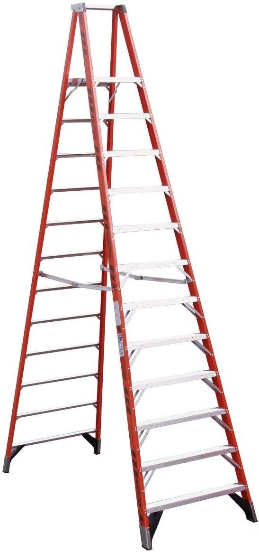Werner (P7412) plataforma escalera, fibra de vidrio: Amazon.es: Coche y moto