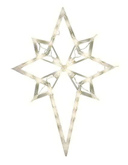 Amazon impact innovations christmas lighted window decoration impact innovations christmas lighted window decoration star of bethlehem mozeypictures Images