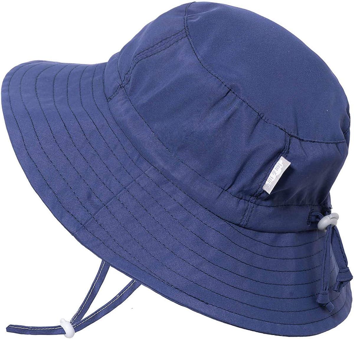 JAN /& JUL Kids Aqua-Dry Sun-Hat Girl or Boy for Baby and Toddler 50+UPF Adjustable Straps