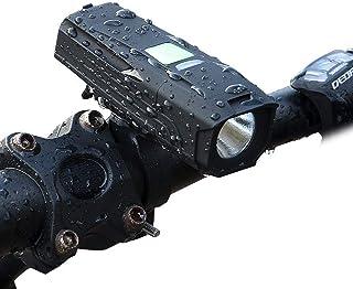 Bicycle Headlights USB Charging T6 high-Light Riding Flashlight Mountain