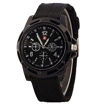 Logobeing Reloj Deporte Digital Hombre Pulsera Relojes Deportivos con Esfera Verde Militar para Soldado de ejército Electrónica Digital (B): Amazon.es: ...