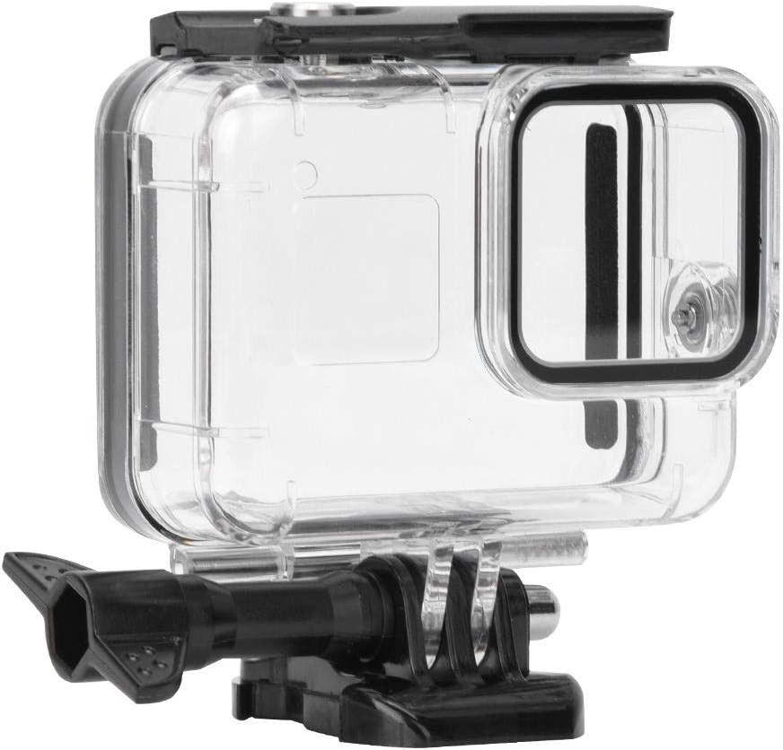 Sxhlseller Plástico ABS Duradero Ligero 45M Impermeable Submarino fotografía de Disparo de Buceo Accesorio cámara de Deportes de acción videocámara: Amazon.es: Electrónica