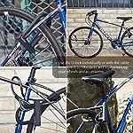 Lucchetto-a-U-per-Bici-U-Blocco-Bicicletta-Robusta-Sportneer-Set-Blocco-per-Bicicletta-Blocco-a-U-Resistente-con-Cavo-in-Acciaio-di-Sicurezza-5-Ft-per-Mountain-Bike-da-Strada