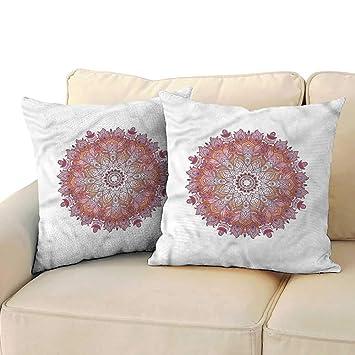 Amazon.com: Ediyuneth Fundas de almohada con cremallera para ...