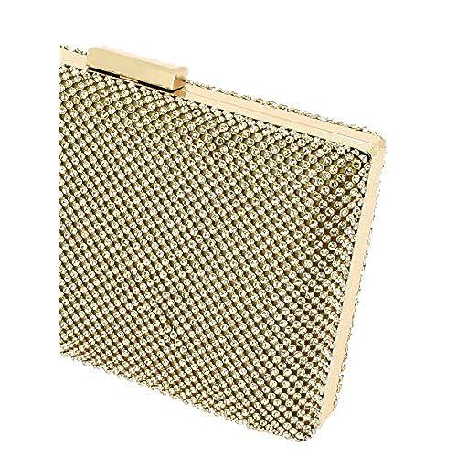 75baf65a2 Lovely Boutique-Magique bolsa Clutch para mujer con pedrería – colores para  elegir – Producto