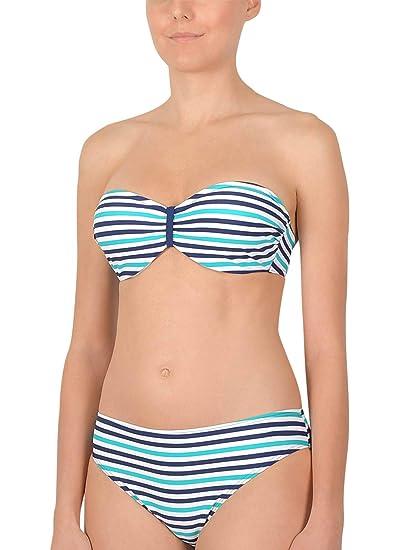 cb077e16751482 Naturana Bandeau Bikini mit Bügel 72528 Gr. 36-44 B-D: Amazon.de: Bekleidung