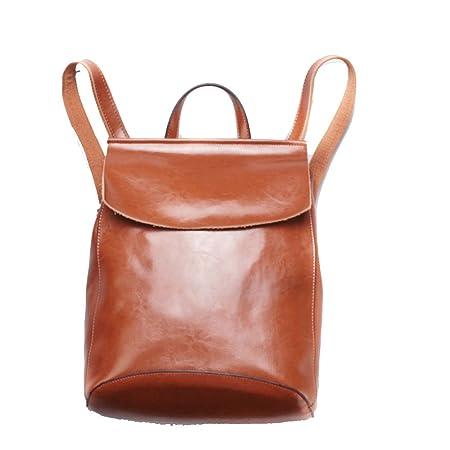 6232694719 Women s Ladies Genuine Leather Handbags and Rucksack 2 in 1 Vintage Rucksack  Shopping City College Uni Shoulder Backpack Casual Daypack-24 30 10cm  ...