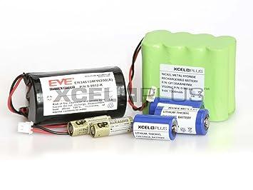 Batería de alarma PowerMax Visonic MemoryCapital vida extendida de unidades: Amazon.es: Bricolaje y herramientas