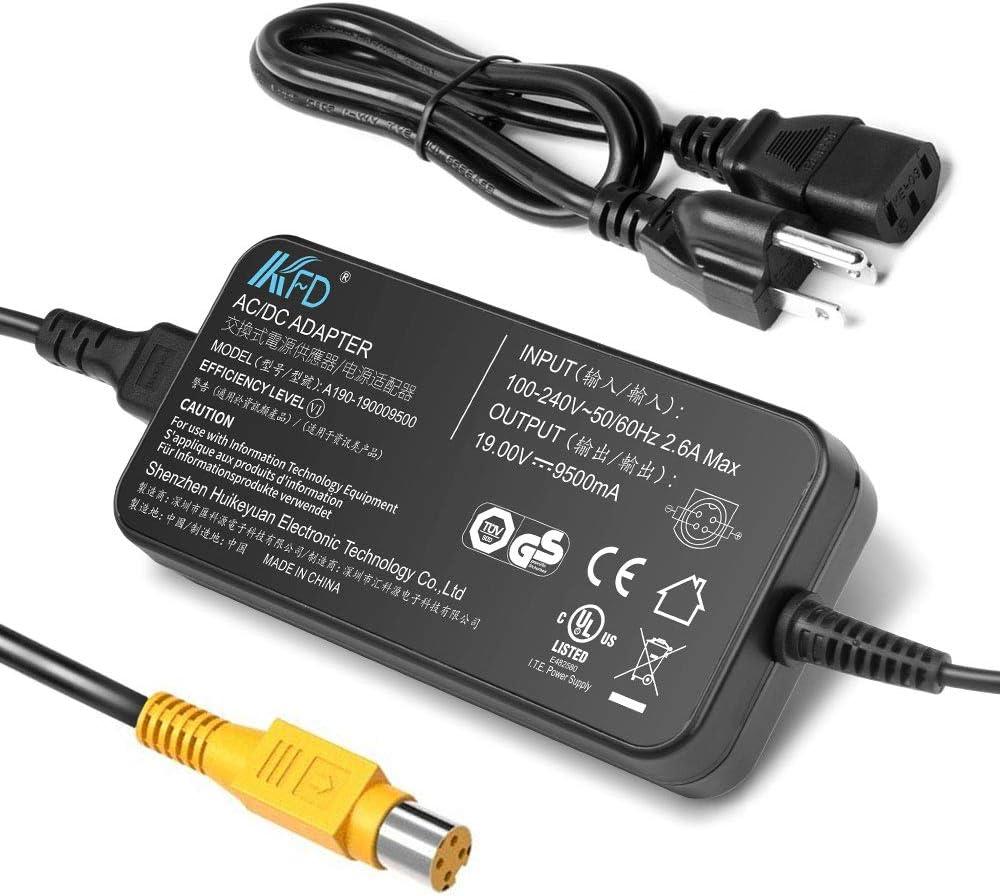 KFD 19V 9.5A 180W AC Adapter for Toshiba Qosmio Laptop Power Supply Toshiba Qosmio X75 X70 X875 X870 X775 X770 X505 X500 X305;X875-Q7390 X75-A7298 X75-A7295 X70-ABT3G22 X875-Q7190 PA3546U-1ACA Charger