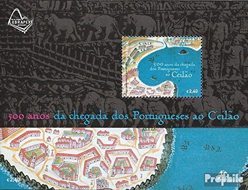 Portugal block248 (Complete.Issue.) 2006 Arrival The Portuguese on Ceylon (Stamps for Collectors)