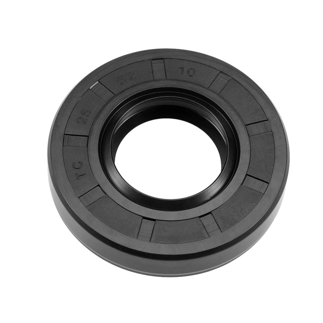 Nitrile Rubber Cover Double Lip sourcing map Oil Seal TC 30mm x 50mm x 10mm