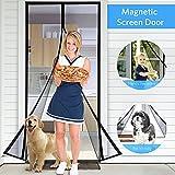 #2: Tdbest Magnetic Screen Door 36