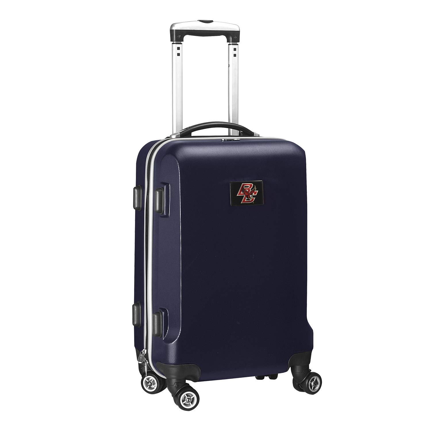 Denco NCAA Boston College Eagles Carry-On Hardcase Luggage Spinner, Navy