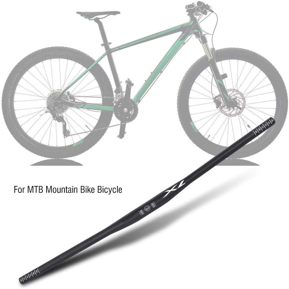 VGEBY1 Manillar de Bicicleta Manillar de Barra de elevaci/ón Plana de Ciclismo de aleaci/ón de Aluminio para Bicicleta de Bicicleta de monta/ña