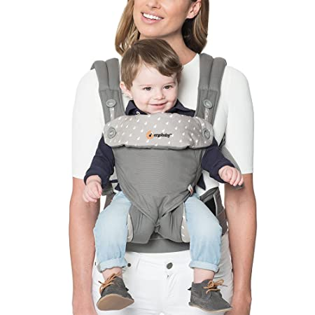 Ergobaby Carrier, 360 All Carry Positions Baby Carrier, Dewy Grey