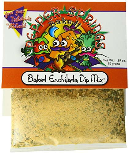Mix Dip Pepper (Pepper Springs Baked Enchilada Dip Mix, 0.89 Ounce)