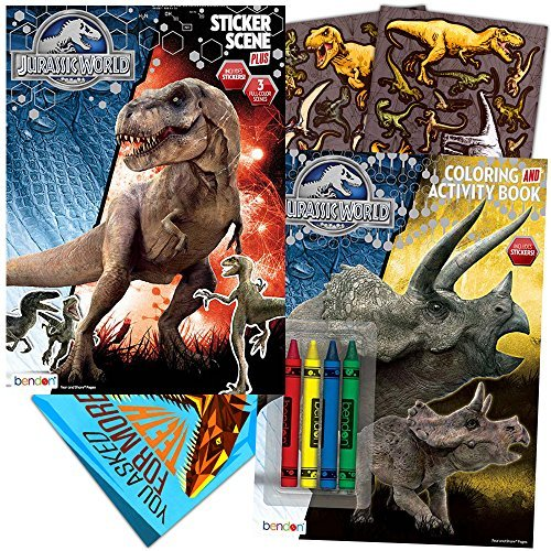Top 10 coloring books jurassic world for 2019